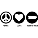 Peace Love Puerto Rico