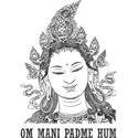 Vintage Om Mani Padme Hum