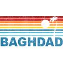 Retro Palm Tree Baghdad