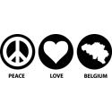Peace Love Belgium