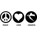 Peace Love Croatia
