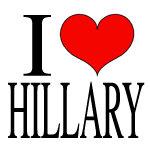 I Love Hillary T-shirt & Gift