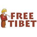 Tibetan Lama Free Tibet
