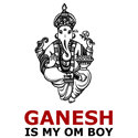 Ganesh Is My Om Boy Cool T-shirts