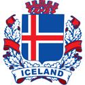 Stylized Iceland Crest