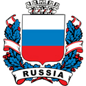 Stylish Russia Crest