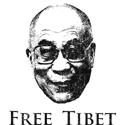 HH Dalai Lama Free Tibet