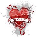 Heart Wolf T-shirt