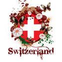 Butterfly Switzerland T-shirt