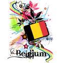 Flower Belgium T-shirt
