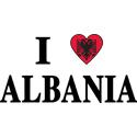 I Heart Albania T-shirts
