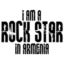 Rock Star In Armenia T-shirts