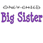 Only Child to Big Sister Purple