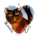 I (heart) Burmese Cats