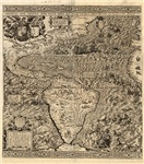 1562 Map of the Americas