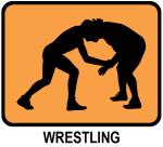 Wrestling (orange)