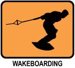Wakeboarding (orange)
