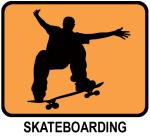 Skateboarding (orange)