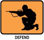 Defend (orange)