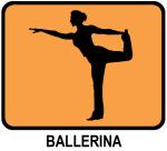 Ballerina (orange)
