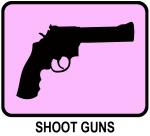 Shoot Guns (pink)