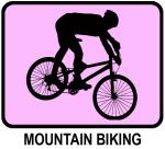 Mountain Biking (pink)