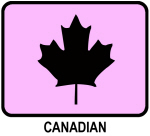 Canadian (pink)