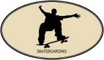 Skateboarding (euro-brown)