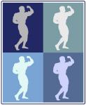 Bodybuilding (blue boxes)