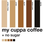 My Cuppa Coffee - No Sugar