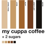 My Cuppa Coffee- 2 Sugars