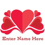 Personalized Hearts