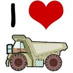 I Love Dump Trucks