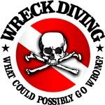 Wreck Diving (Skull)
