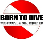 Born To Dive (web footed)