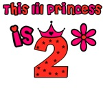 This lil princess is 2