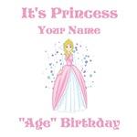 Princess Personalized Birthday