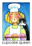 CUPCAKE QUEEN CAT LADY