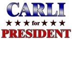 CARLI for president