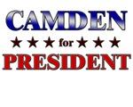 CAMDEN for president