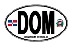 Dominican Republic (DOM) Euro Oval