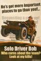 Solo Driver Bob