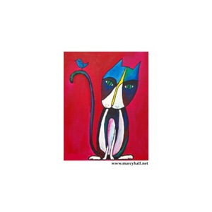 Marcy Hall's Jobie & His Bird