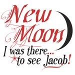 Twilight New Moon, I was there...to see Jacob!