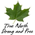 True North - Green Maple Leaf