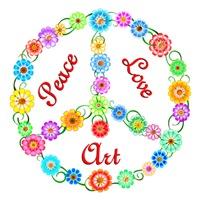 <b>PEACE LOVE ART</b>