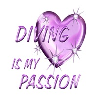 <b>DIVING IS MY PASSION</b>