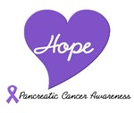 Heart of Hope Pancreatic Cancer T-Shirts & Gifts