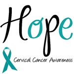 Hope Cervical Cancer T-Shirts & Gifts