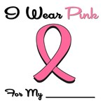 I Wear Pink Ribbon T-Shirts & Gifts
